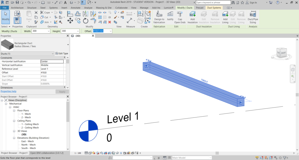 Get Connectors from MEPCurve objects - AEC TECHY