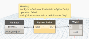 'String' does not contain a definition for 'key' error when decoding JSON in Python for Dynamo