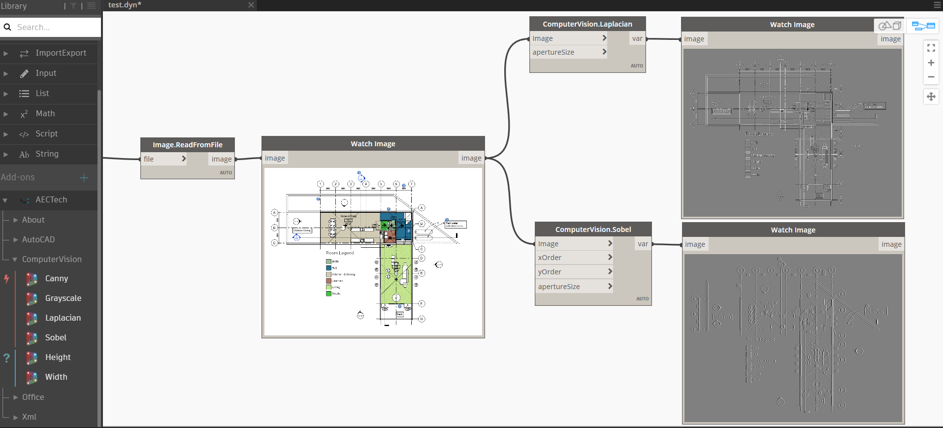 The Value of Visual Programming : Computer Vision in Dynamo